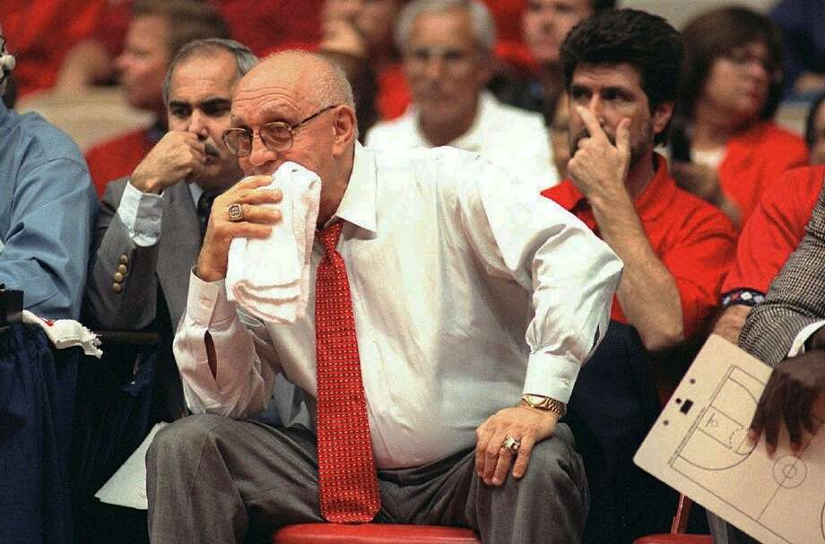Hall of Fame coach Jerry Tarkanian, who built a basketball dynasty at UNLV but was defined more by his decades-long battle with the NCAA, died Wednesday in Las Vegas after several years of health issues. He was 84. Photo: THOR SWIFT