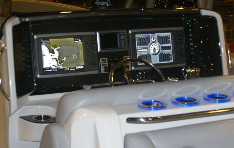The instrument panels on new boats are nothing less than completely computerized.