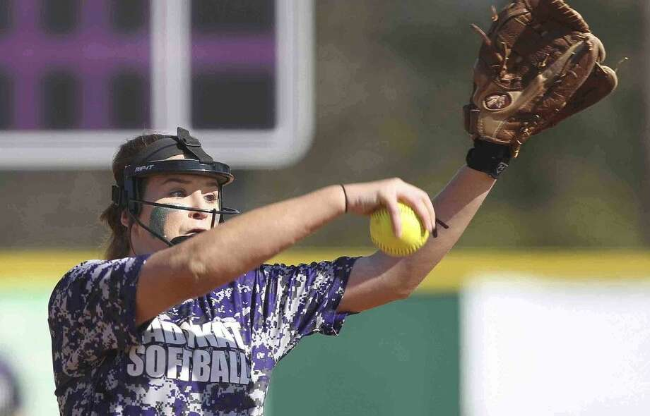 Willis' Casey Dixon pitches during a scrimmage against Dayton Saturday. To view or purchase this photo and others like it, visit HCNpics.com. Photo: Jason Fochtman