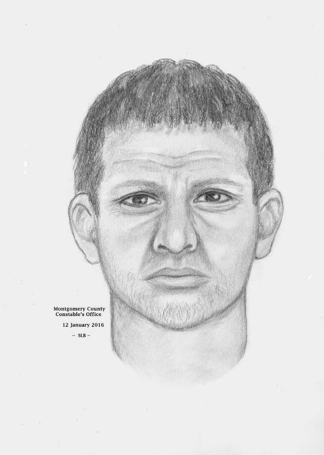 Sketch of man the Precinct 3 Constable's Office is looking for in connection with the sexual assault of a teen girl Jan. 5.