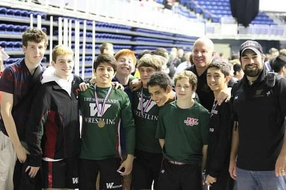 The Woodlands finished second in the Region III-6A wrestling championships on Saturday.