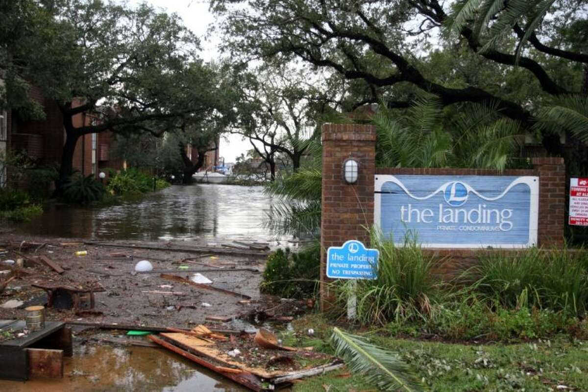 Seabrook was hit hard by Hurricane Ike.