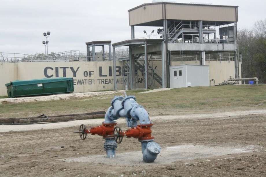 The City of Liberty water treatment plant on FM 3361 is about to undergo some enhancements in the final phase of a project begun in 2007 and due for completion by December 2013. Photo: LOUIS ROESCH