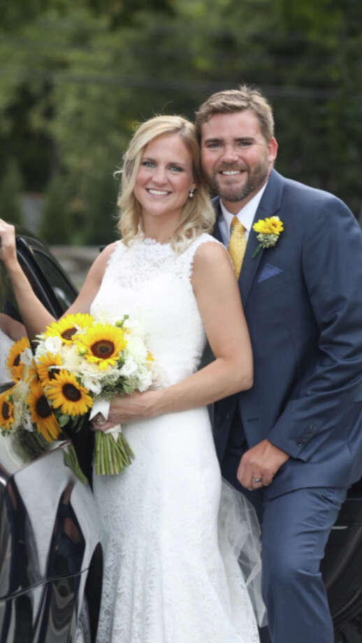 Allison Sweeney March and Ryan Michael Tillar were married on Sept. 17 at St. Mark's Episcopal Church in New Canaan. Photo: Contributed Photo