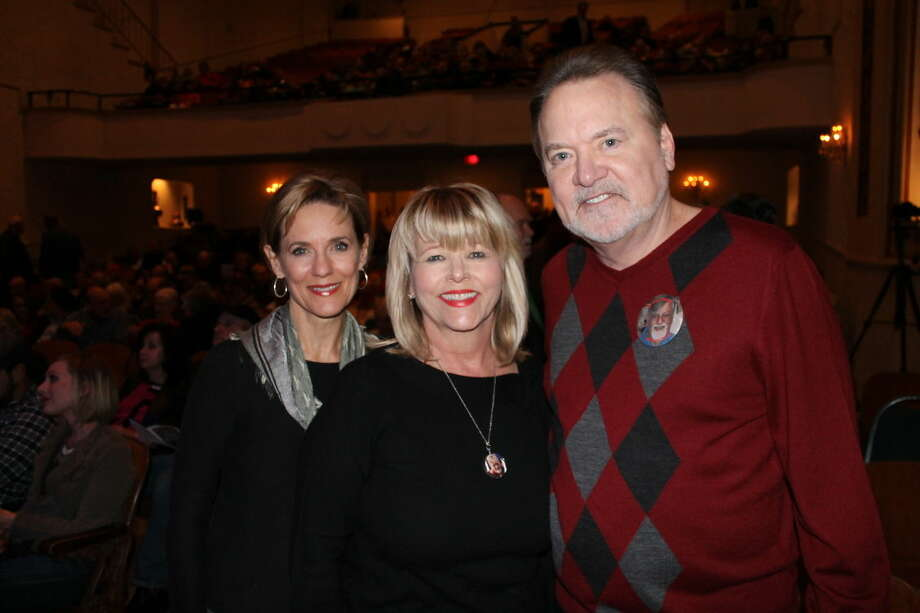 Susie Pokorski, left, chair of the Young Texas Artists Music Competition, with Ruthie Martin, the widow of The Honorable J. Ross Martin III, and The Honorable Guy Martin. The Martin brothers have been selected as the honorees of the 2016 Bach, Beethoven & Barbecue gala on Saturday, March 12, which benefits the Young Texas Artists Music Competition. Photo: Photo Courtesy Montgomery County Lifestyle