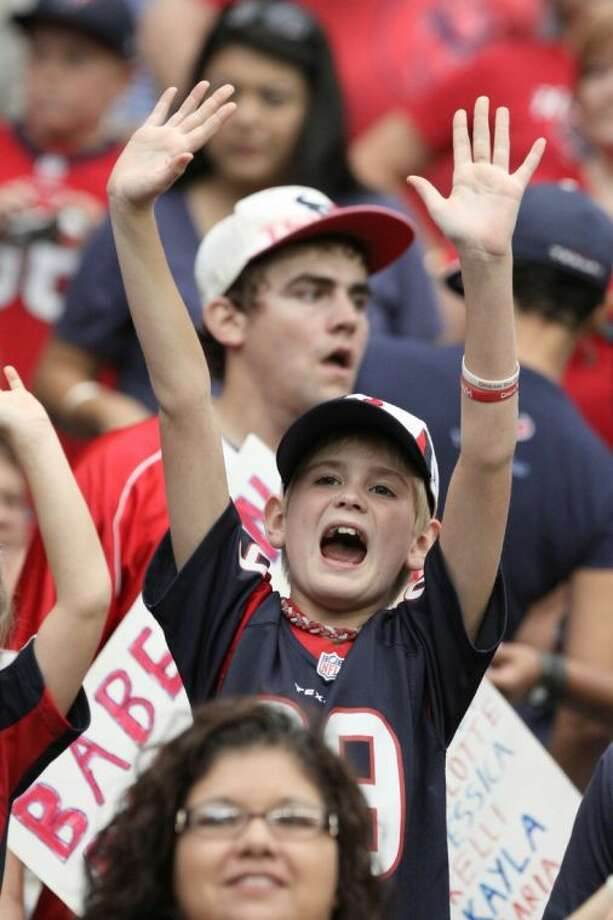 Young or old, Texans fans are the best and most faithful!