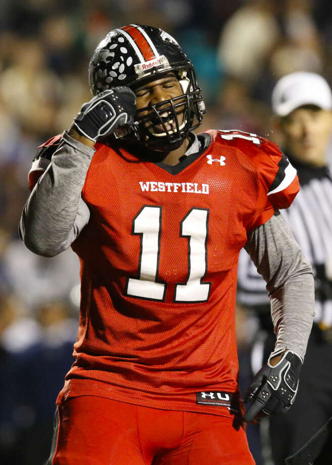 Westfield defensive linemen Ed Oliver signed with Houston on Wednesday.
