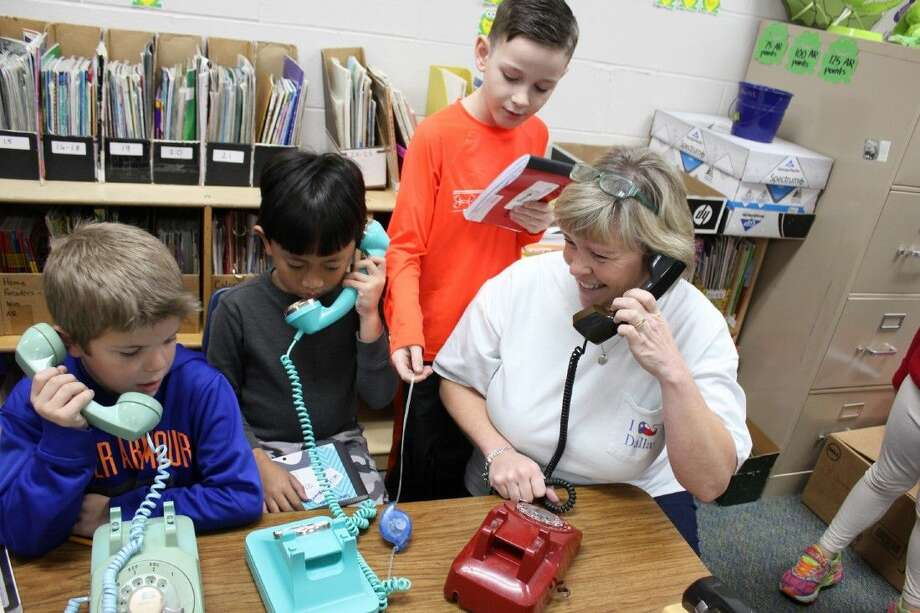 Turner Elementary teacher Cathy Hurst had a fun way to engage her students in lessons about communications.