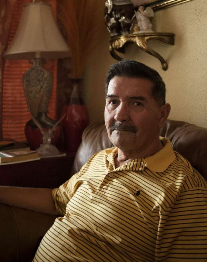 Medal of Honor recipient Santiago Erevia is photographed on Saturday at his home in San Antonio. Erevia is one of 24 army veterans who will receive the award following a congressionally mandated review conducted to ensure that eligible award recipients were not bypassed due to prejudice.