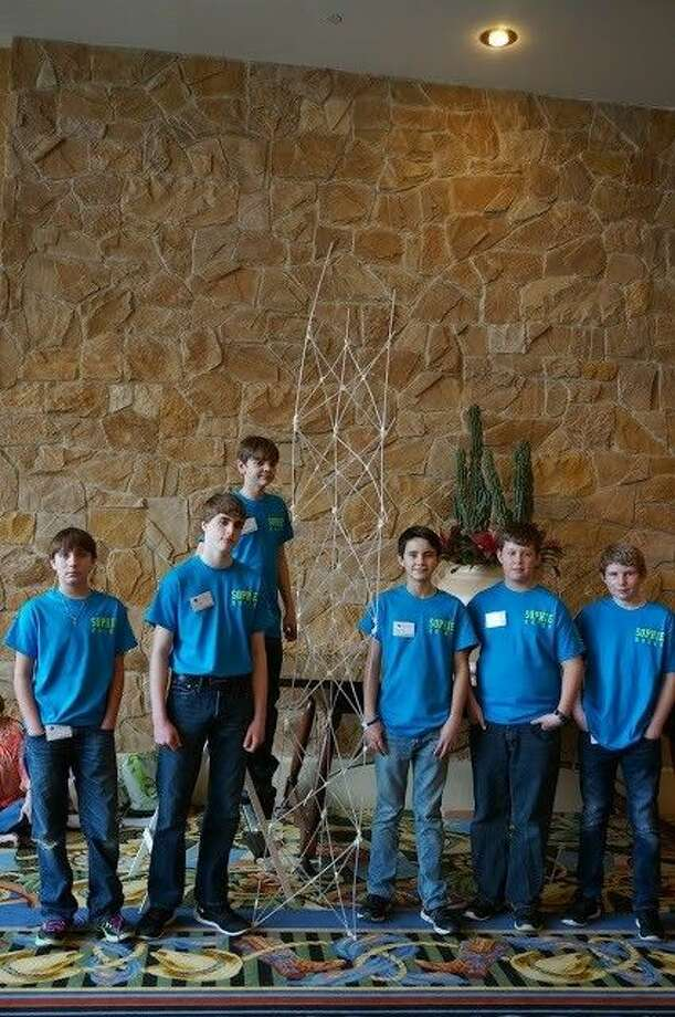 Sacred Heart Catholic School's Junior Beta Club finished second in the national Tower of Power competition in Dallas.