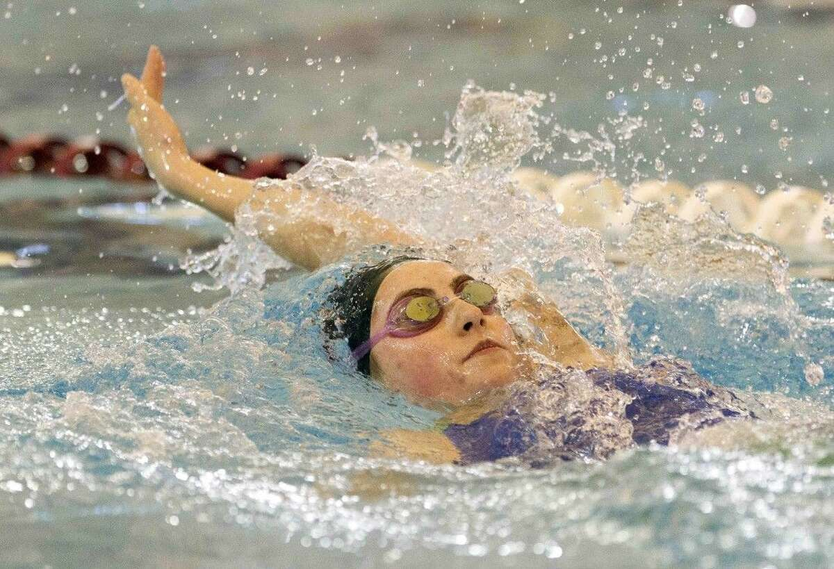The Woodlands' Emily Reese earned state meet call-ups in the 200-yard individual medley and 100-yard butterfly.