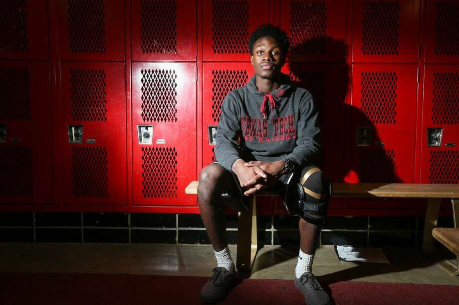 Caney Creek's Charles Brown suffered two season-ending knee injuries during his junior and senior years. Photo: Michael Minasi