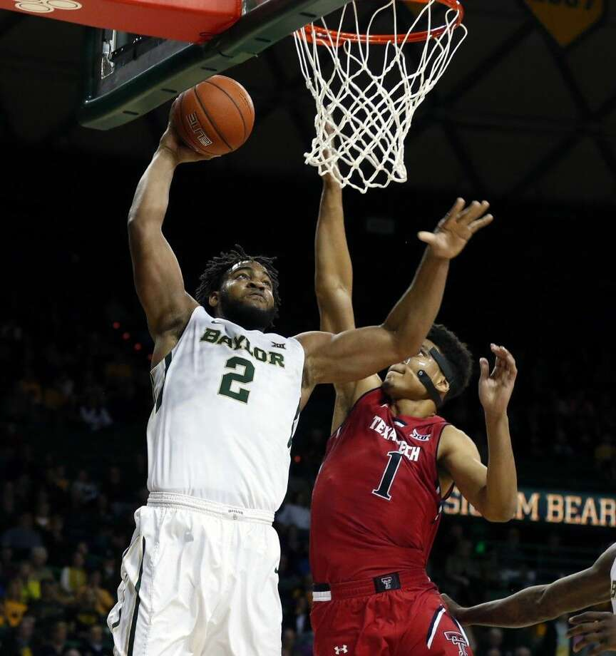 Baylor forward Rico Gathers was named to the All-Big 12 team. Photo: Jerry Larson