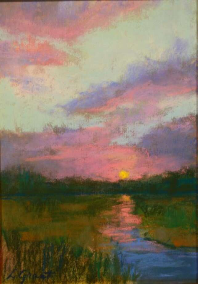 "The Conroe Art League's Spring Judged Show Best of Show winner, a pastel painting titled ""Sunset,"" by LaVera Grant is now on display at the Gallery at the Madeley Building in downtown Conroe. The other winnings paintings featured with this article will be on display at the art league gallery as well."