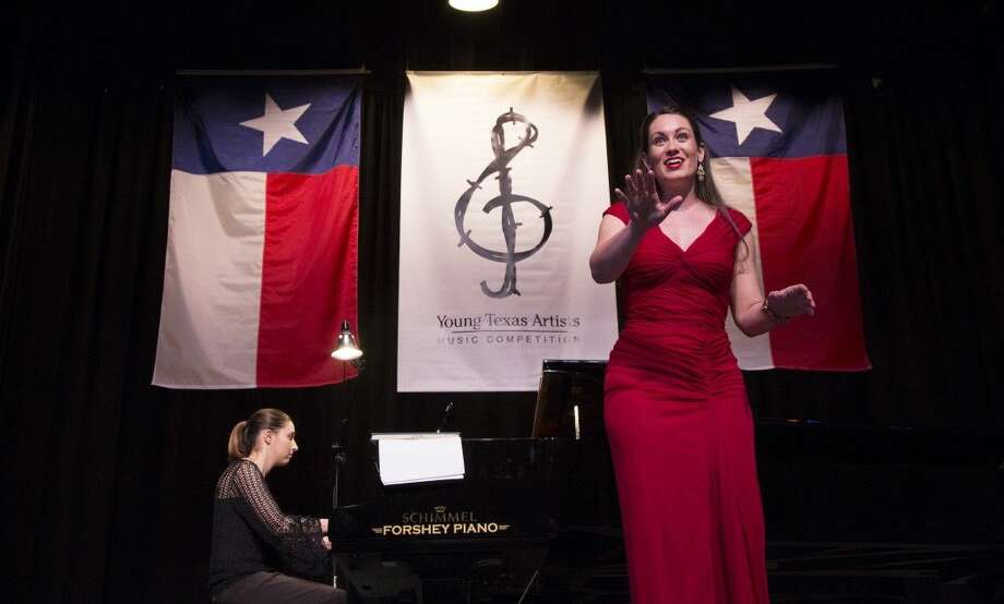 2014 Silver Medalist winner Soprano Julie Engel performing in the Young Texas Artists Music Competition Finalists' Concert.