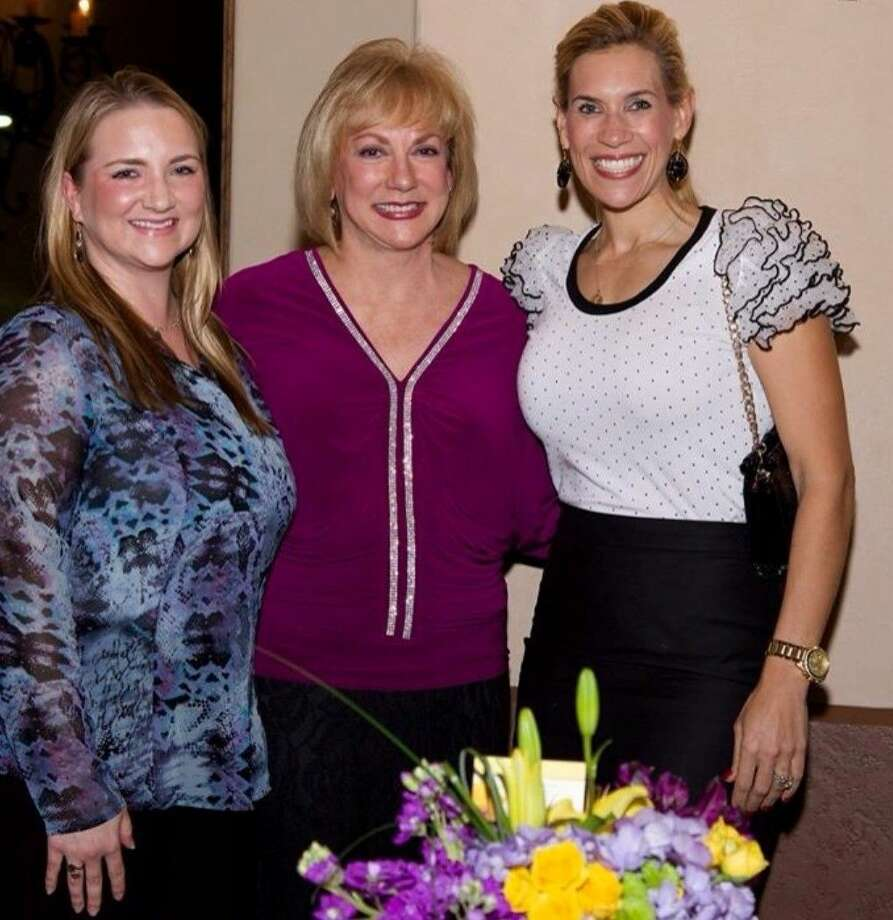 "From left, Danielle Sokol; Debbie Browne, founder of Leaping Butterfly Ministry and author of ""Loving a Leaping Butterfly"" and Missy Herndon."