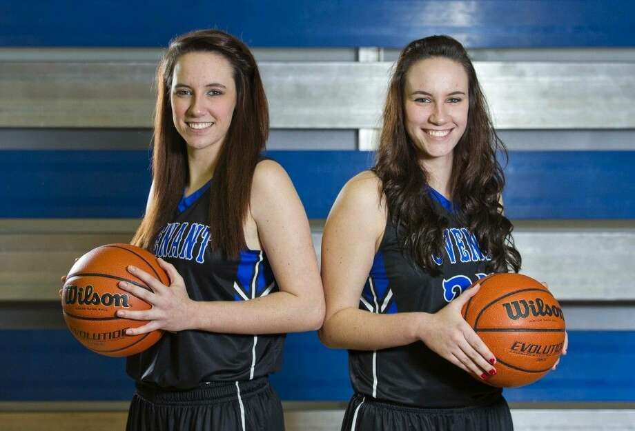 After moving to the United States in 2009, the de Jager twins, Jean-Mari (left) and Petri-Louise (right) have made there mark on the Covenant Christian basketball program. Photo: Jason Fochtman