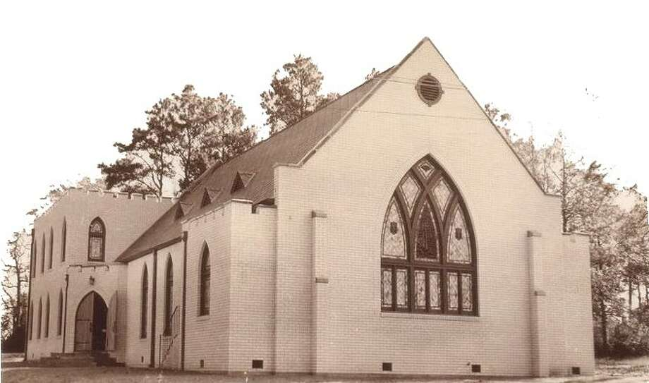 The First Presbyterian Church of Conroe was founded in April 1939. Members met at David Crockett High School, now Travis Intermediate School, until their brick church building was constructed at the corner of San Jacinto and Dallas Streets. Now the building serves as the Vineyard Church.