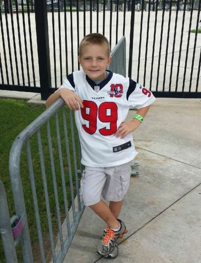 Magnolia third-grader Ethan Townsend had an opportunity of a lifetime this summer. Ethan was invited to hold the Texas Flag at the Houston Texans pre-game show Aug. 25 at Reliant Stadium in Houston.