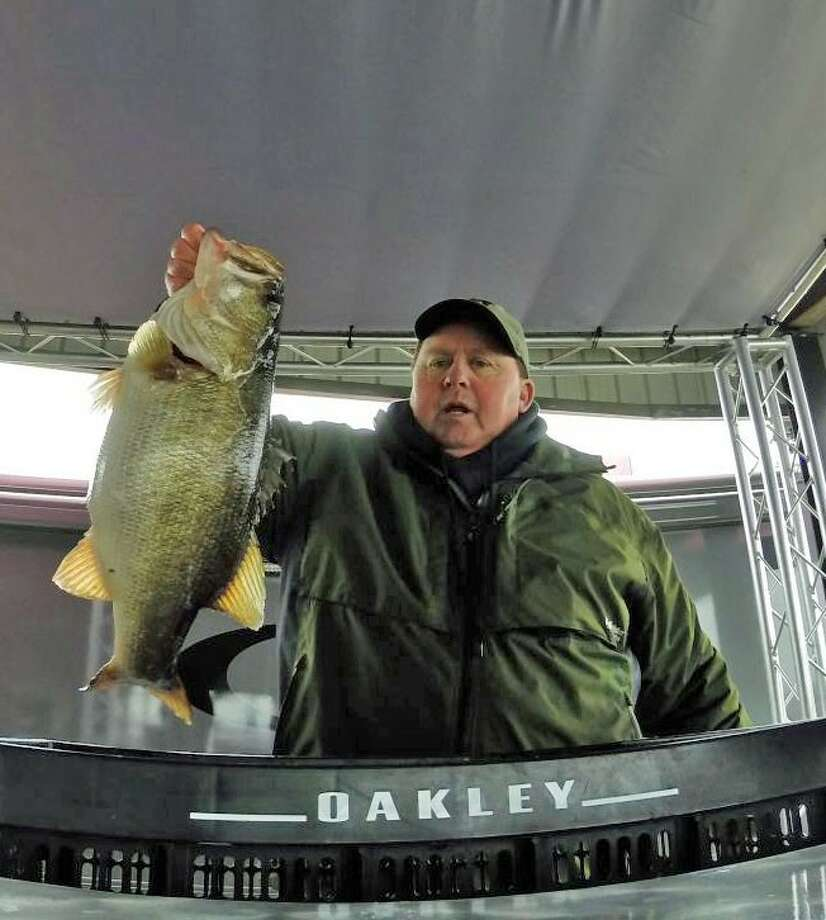 Curt McCauley won the Oakley Big Bass Tournament with a catch of 10.34 pounds.