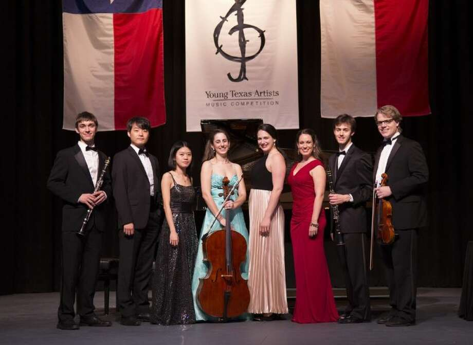 Winners from the 2014 30th Anniversary Young Texas Artists Music Competition. The finalists' concert took place Saturday night at the Crighton Theatre in downtown Conroe.