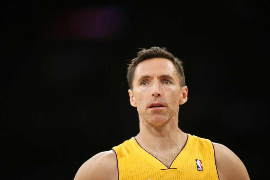 Steve Nash announced his retirement Saturday after a 19-year NBA career that included two MVP awards. Photo: Danny Moloshok