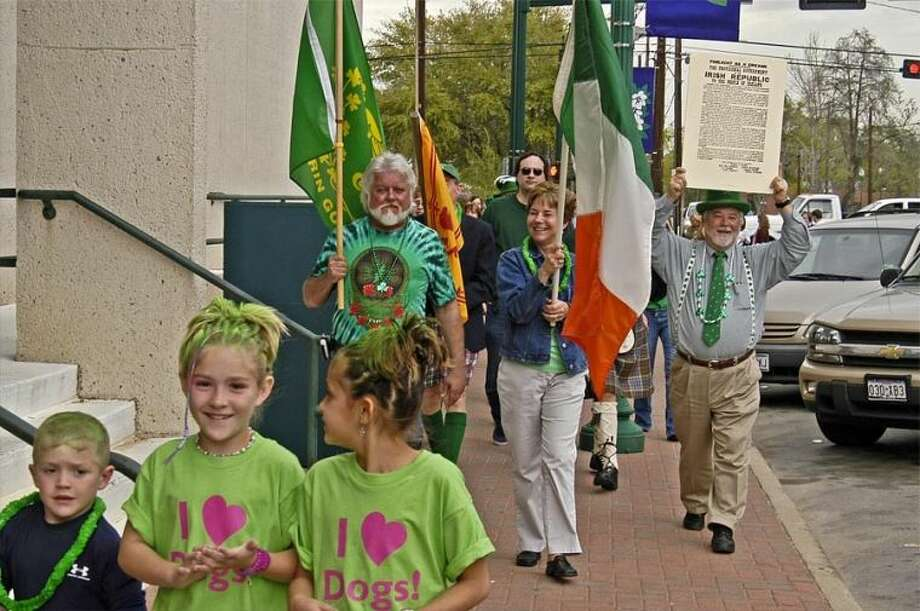 The community gathers in downtown Conroe each year for the annual St Patrick's Day Walking Parade around the downtown square. This year's parade is today, March 17, at 5 p.m. Parade enthusiasts will gather on Simonton Street in front of The Corner Pub and The Red Brick Tavern.