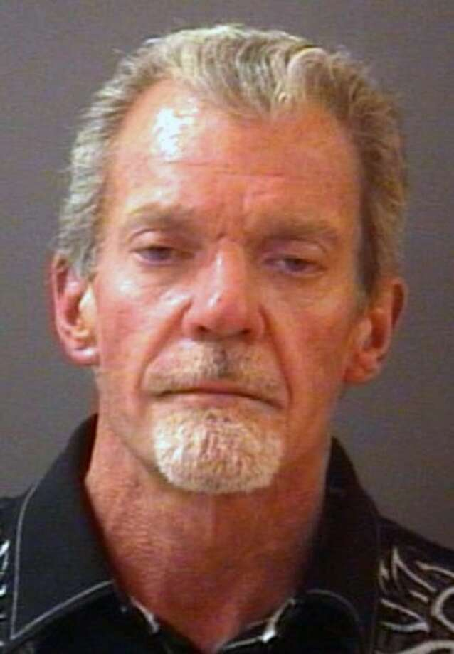 This mug shot provided by the Hamilton County Sheriff's Department shows Indianapolis Colts owner Jim Irsay after his arrest Monday. Photo: Uncredited