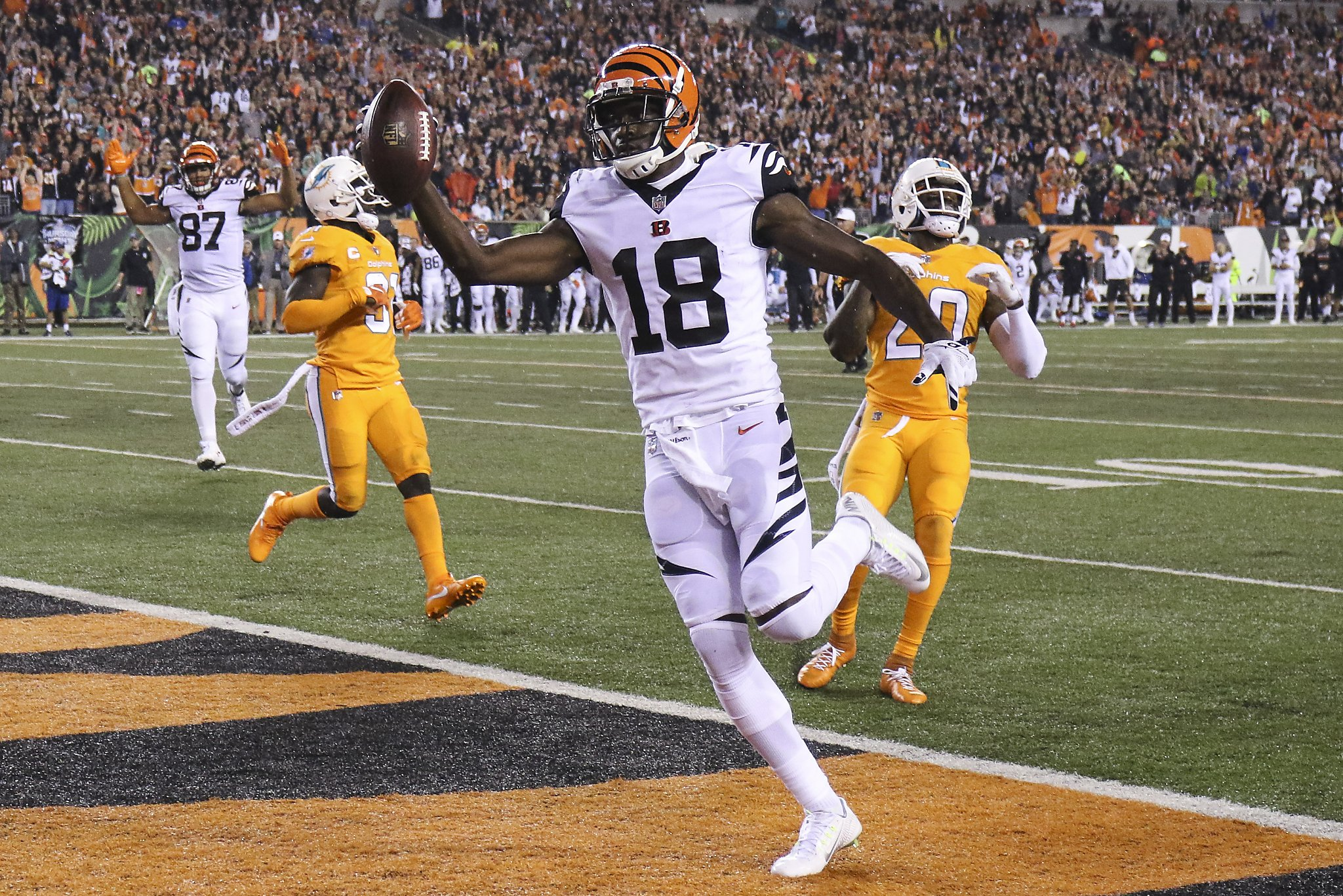 A J Green leads Bengals past depleted Miami SFGate