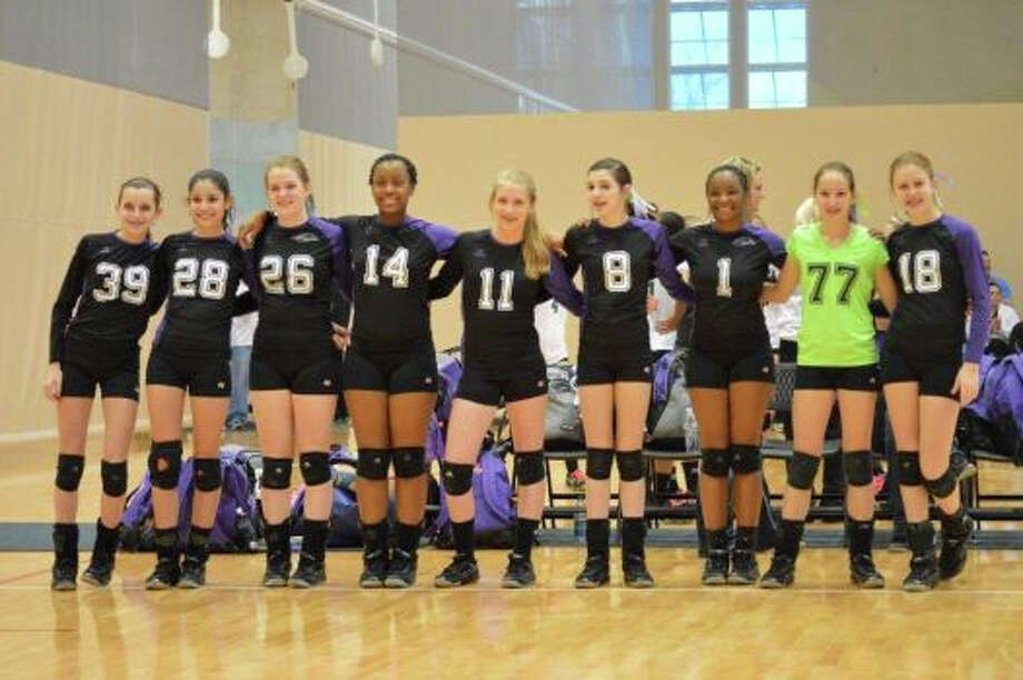 TheXtreme Volleyball Club team in The Woodlands is vowing not toshower for one week or until they raise atleast $3,000 for the nonprofit WellAware Photo: Courtesy Photo