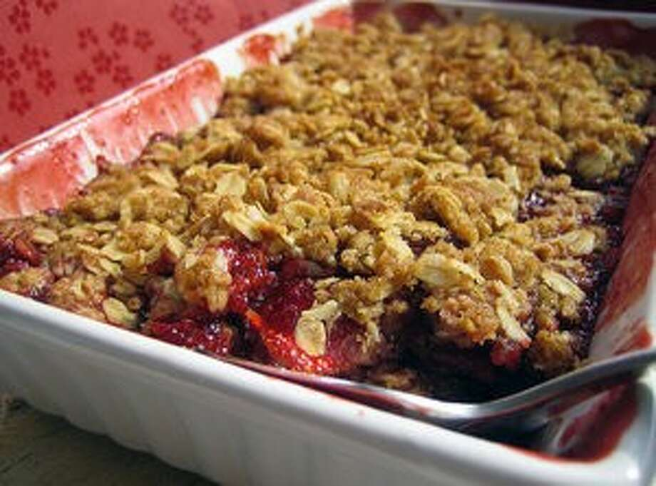 Healthy Mixed Berry Cobbler