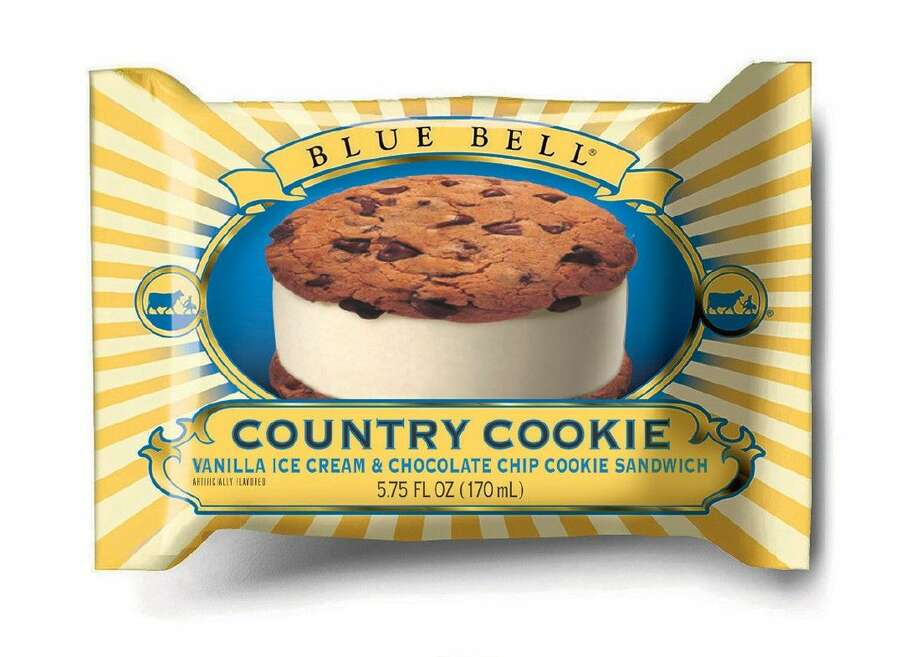 This undated photo provided by Blue Bell shows Blue Bell Chocolate Chip Country Cookies, one of the recalled items. Photo: Uncredited