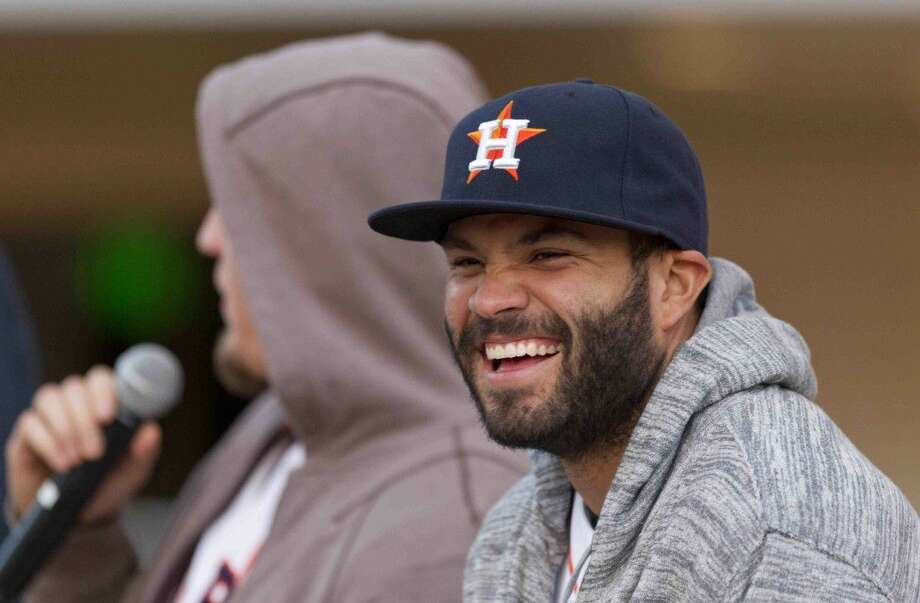 Houston Astros second baseman Jose Altuve is looking to take the team to new heights in 2016. Photo: Jason Fochtman