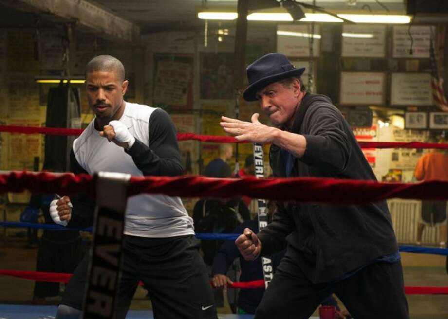 """Michael B. Jordan and Sylvester Stallone in """"Creed."""" Danny says Stallone should have received an Oscar for his performance here."""