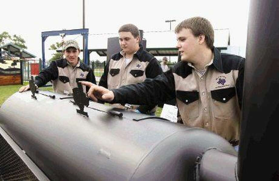 Welding Students Impress With Works In Fair S Ag Mechanics