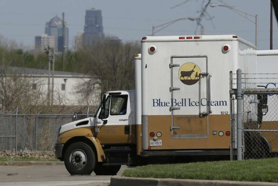 Tainted Blue Bell ice cream products have sickened eight people — five in Kansas and three in Texas.