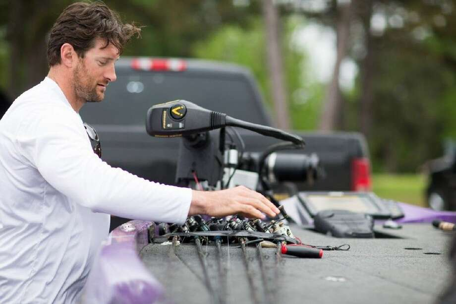 Minnesota Vikings defensive end Brian Robison, a Splendora grad, has been drawn to fishing in the offseasons.