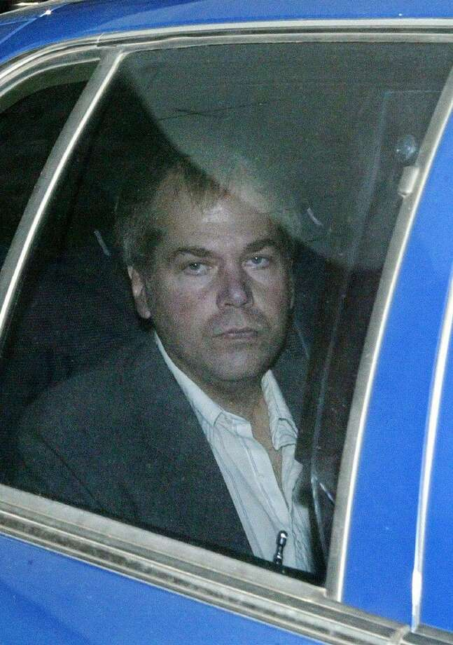 John Hinckley Jr. arrives at U.S. District Court in Washington on Nov. 18, 2003. Photo: Evan Vucci