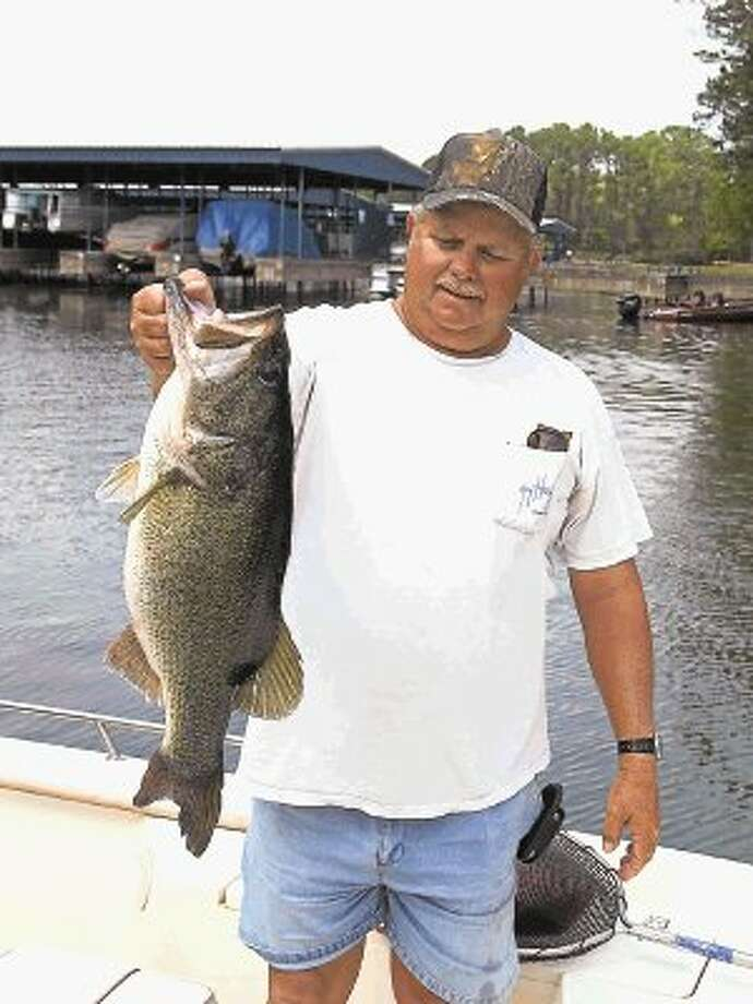 This 9-pound bass was caught by fishing guide Butch Terpe, who was sight fishing during the spawn. / @WireImgId=2670572