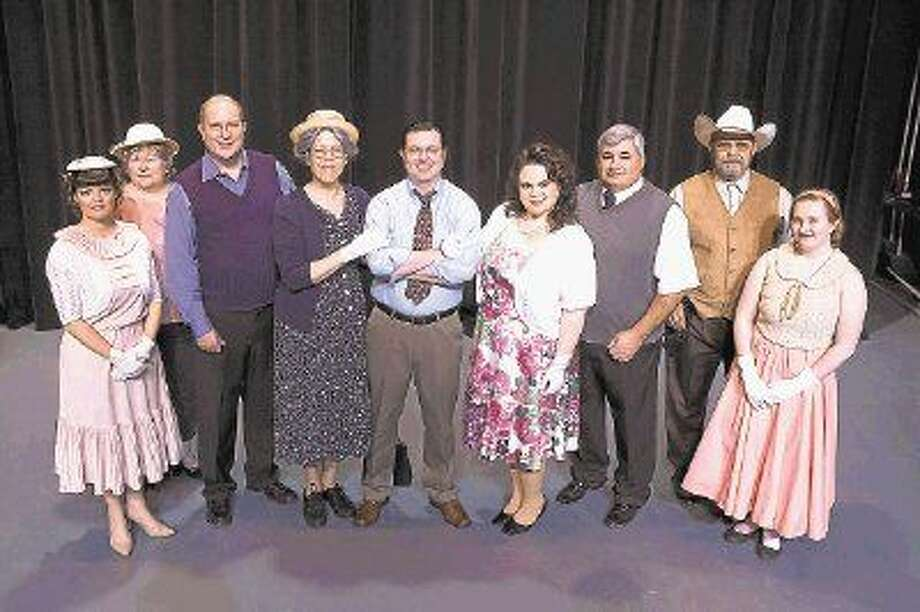 "The cast of ""The Trip to Bountiful"" presented by Stage Right at the Crighton Theatre. The show has its final performances this weekend, Friday, Saturday and a Sunday matinee. Call 936-441-7469 for tickets. Photo: Photographer: Michael Pittman"