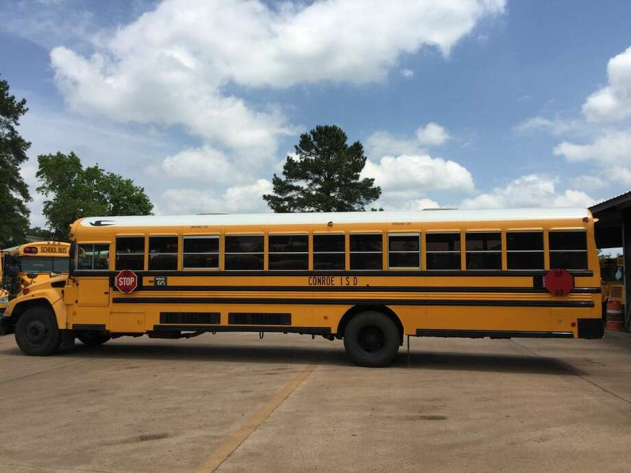 The Conroe ISD Board of Trustees approved the purchase of 28 new school buses, including 20 77-passenger buses like the one in the picture above. The cost for all 28 buses will be about $2.6 million.