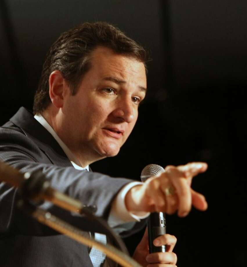 Sen. Ted Cruz, R-Texas, speaks at a GOP Freedom Summit Saturday in Manchester, N.H. Several potential Republican White House contenders — among them Kentucky Sen. Rand Paul, Sen. Ted Cruz, and former Arkansas Gov. Mike Huckabee — headlined the conference Saturday.