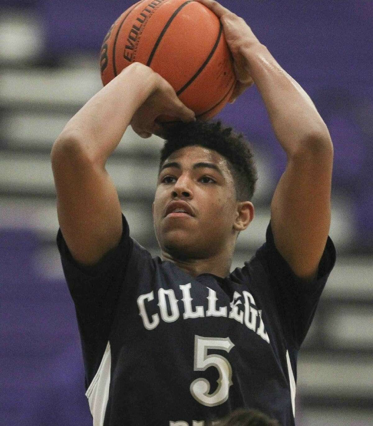 College Park sophomore Quentin Grimes was a first-team selection for the Cavs.
