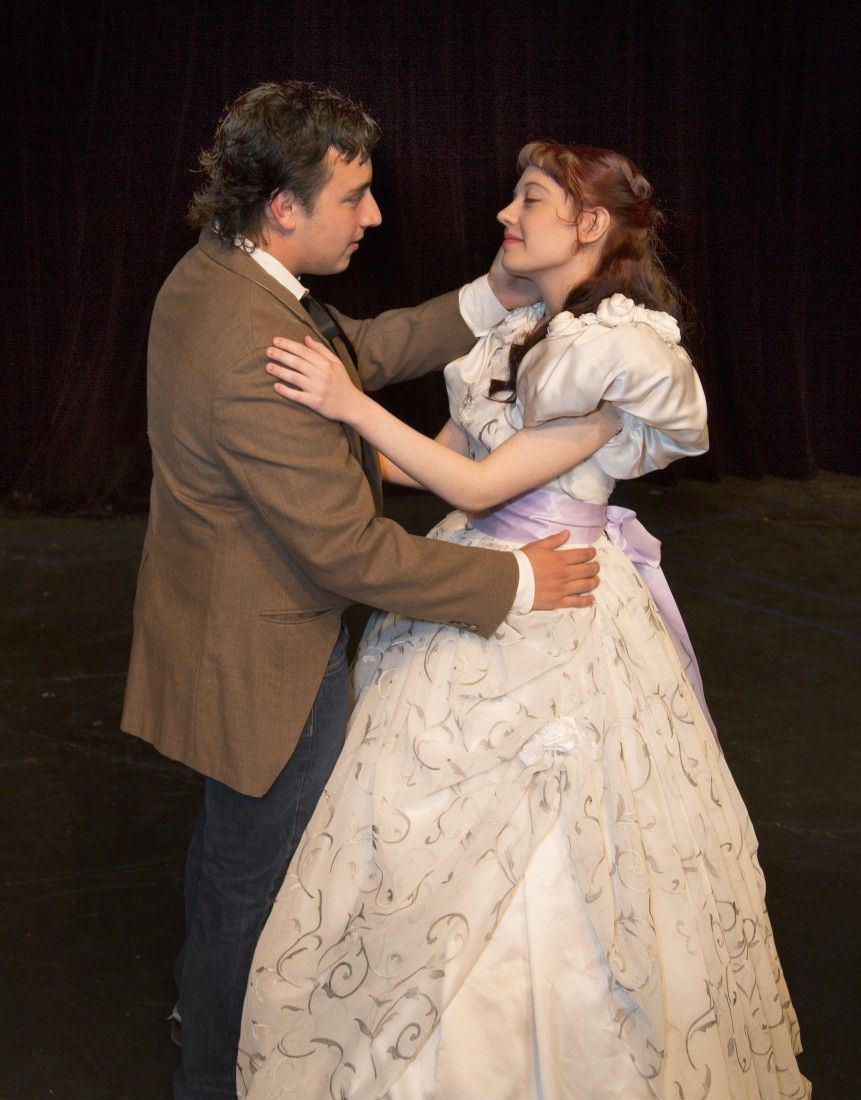 Players add new twist on classic romeo and juliet the for Painting with a twist conroe