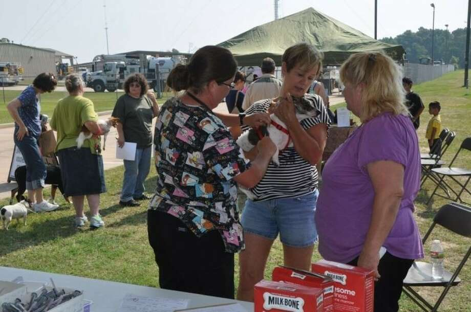 The Lone Star Animal Welfare League will provide low-cost spaying and neutering services at its Pet Health Fair at the Conroe Animal Adoption Center April 26.