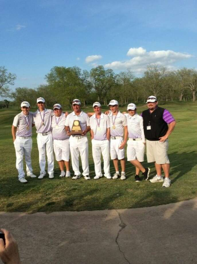 Montgomery's boys won the Region III-4A golf championship on Wednesday in Sealy.
