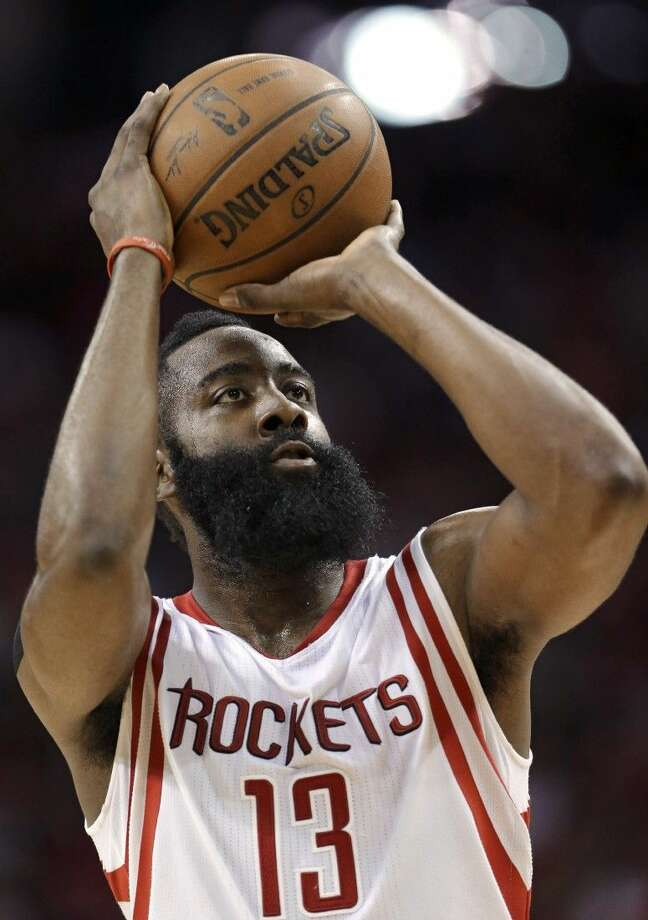 James Harden and the Rockets will open by hosting the Dallas Mavericks starting Saturday. Photo: David J. Phillip