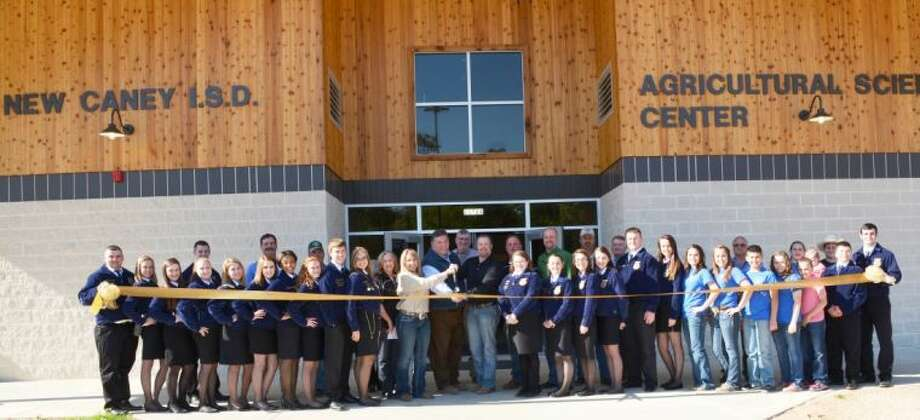 New Caney Independent School District held a grand opening for a new Agricultural Science Center this month.