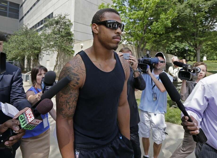 The Dallas Cowboys signed free agent defensive end Greg Hardy, who faces a suspension from the league for domestic abuse allegations, on Wednesday. Photo: Uncredited