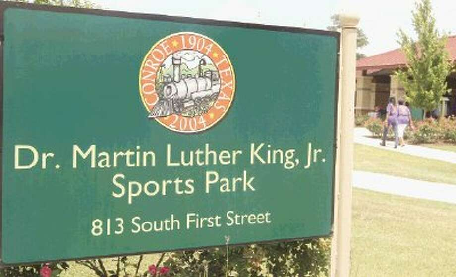 The name of the Dr. Martin Luther King, Jr. Sports Park is being fought over by two different groups in Conroe, the alumni of the Booker T. Washington School and multiple supporters of Dr. Martin Luther King, Jr. Photo: Staff Photo By Jason Fochtman / Conroe Courier